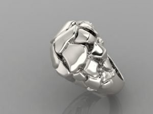 White gold or Sterling Silver